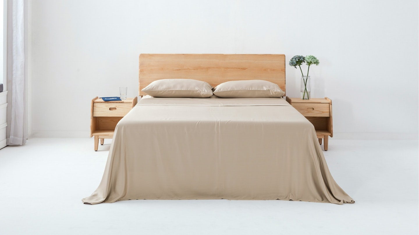 Ecosa sand bamboo sheet set