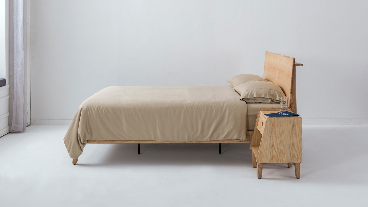 Ecosa sand bamboo duvet cover set
