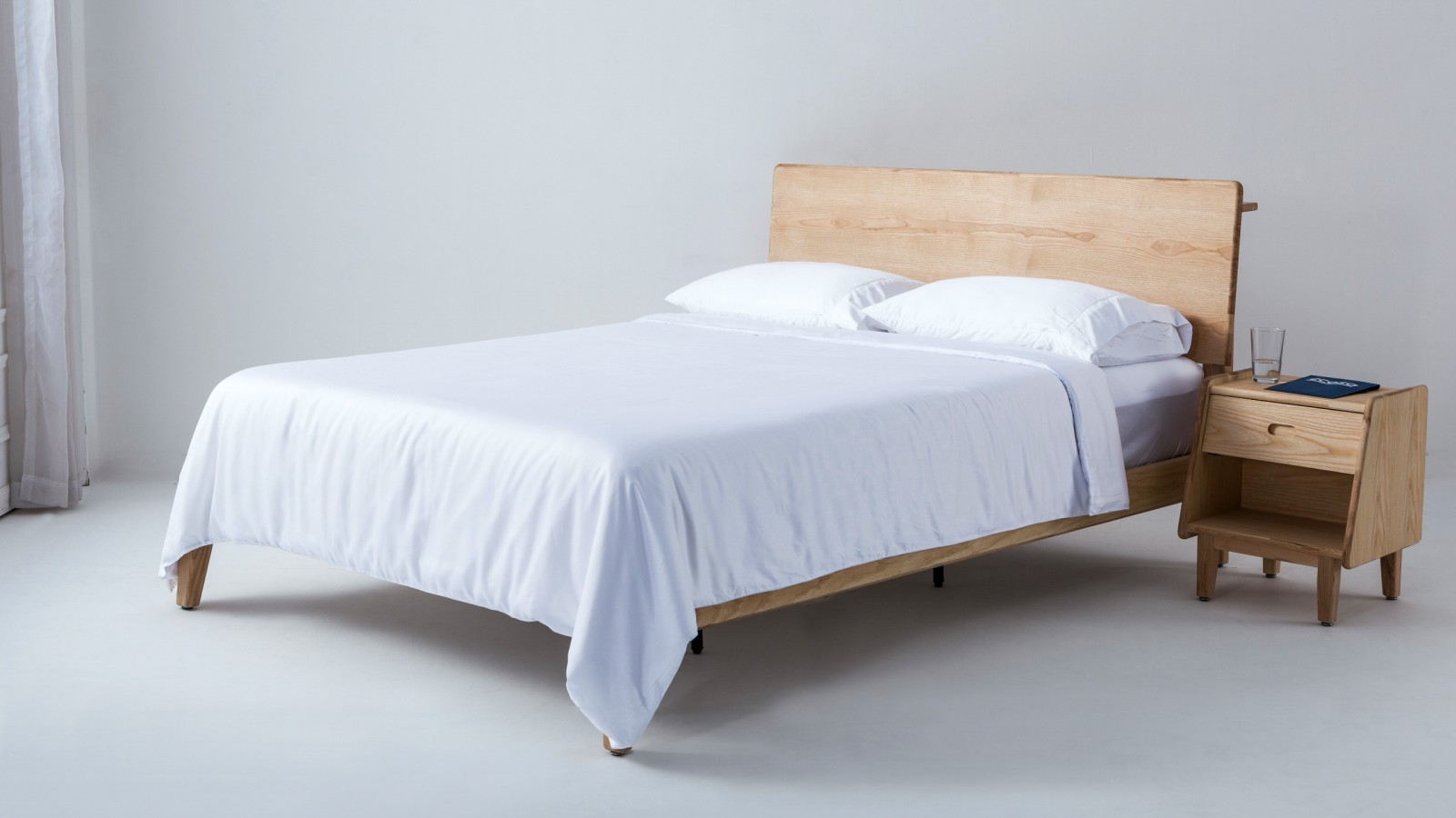 White Queen Quilt Cover 100 Organic Luxury Ecosa