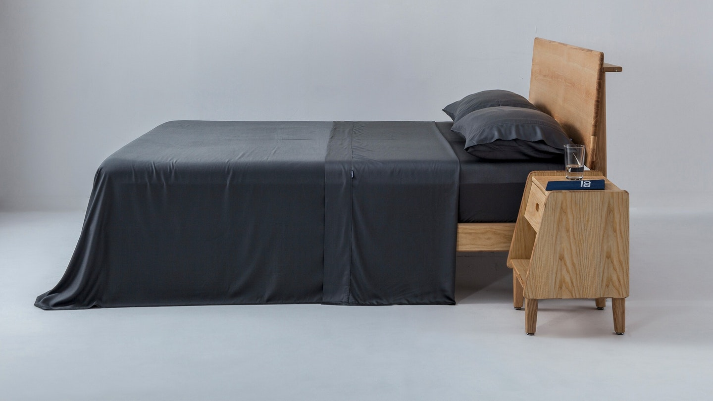 Ecosa charcoal bamboo sheet set
