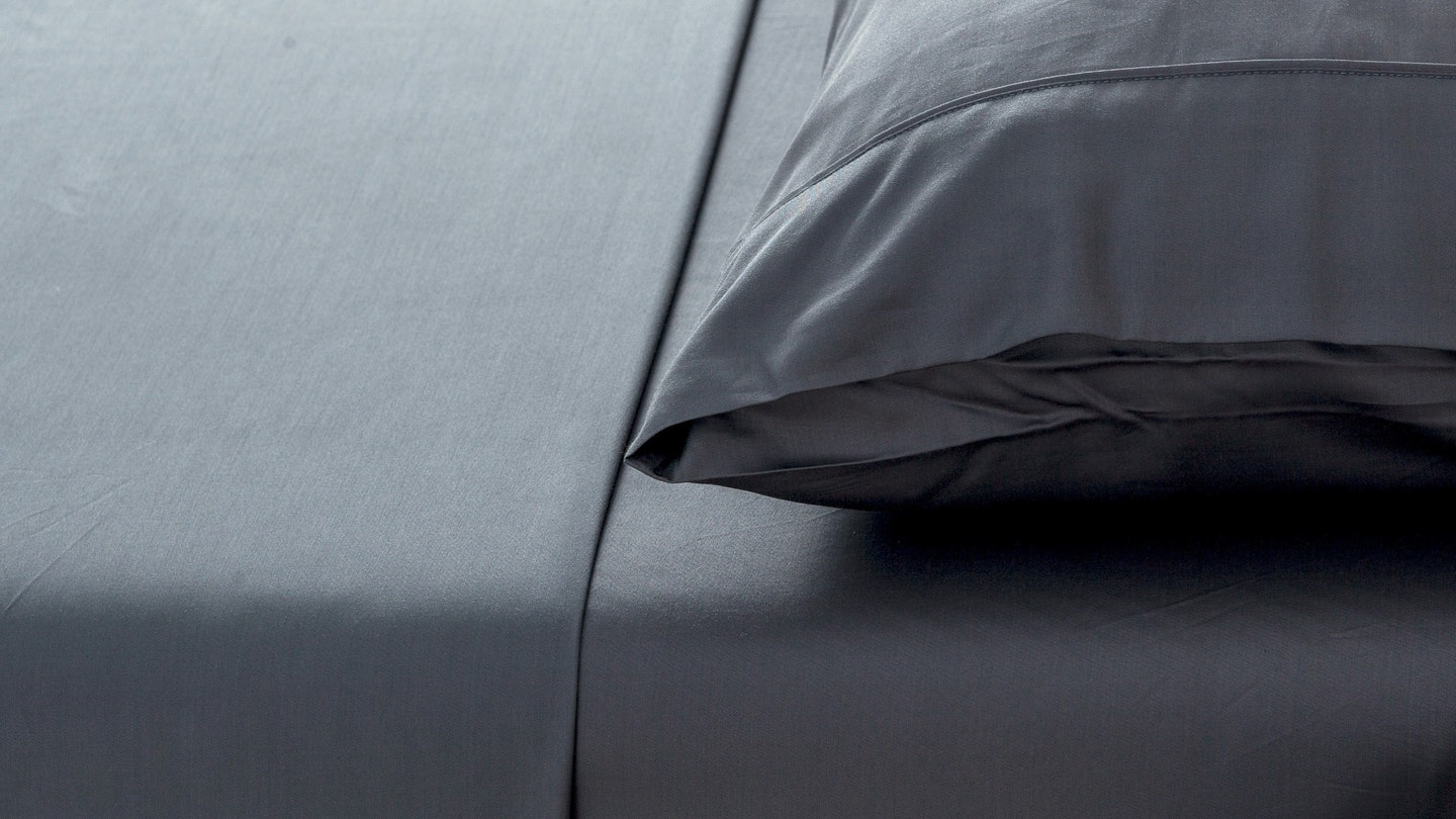 Ecosa Charcoal bamboo pillowcase