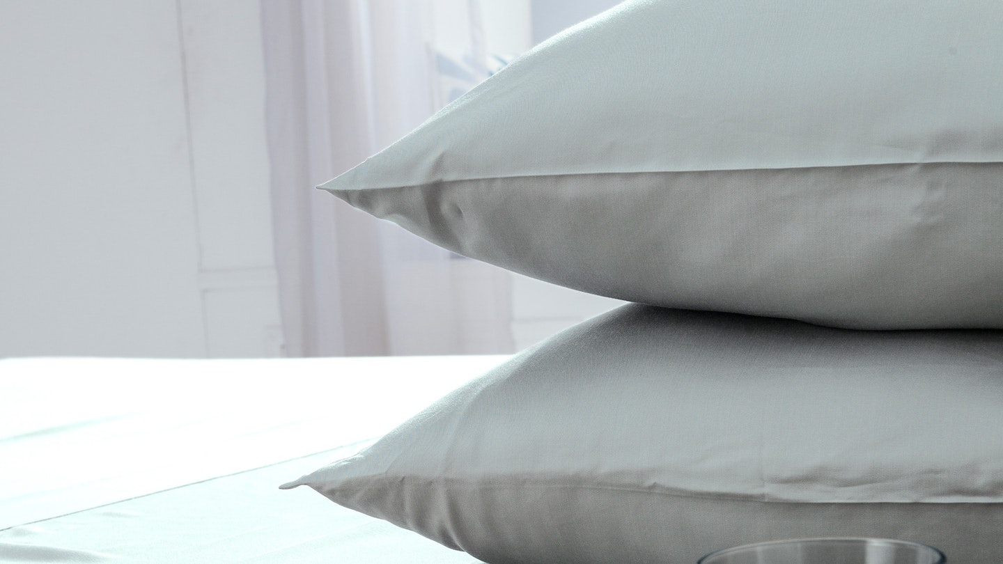 Ecosa grey bamboo pillowcase