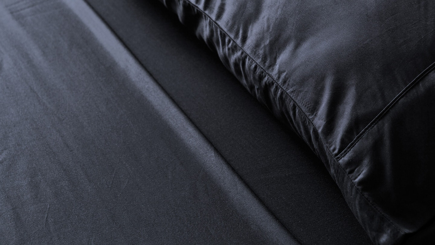 Ecosa black bamboo pillowcase