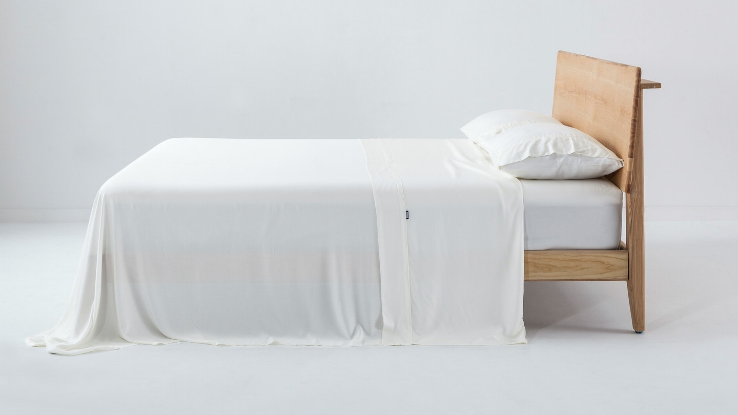 Ecosa ivory bamboo sheet set