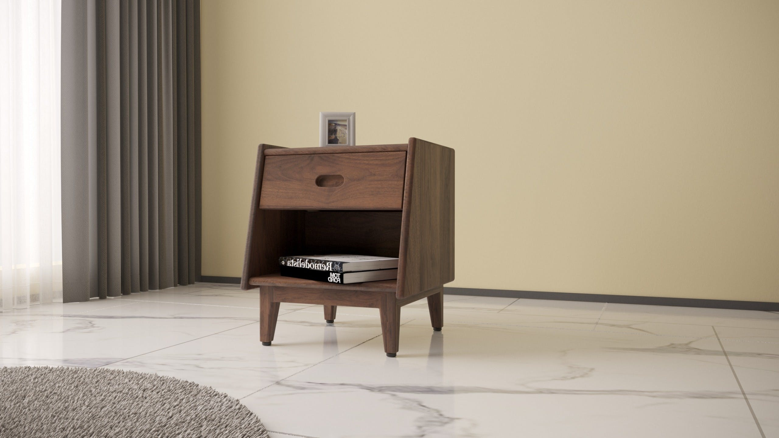 Ecosa Bedside Table