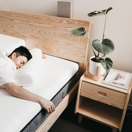 Ecosa Bedside Table with Albert Salim