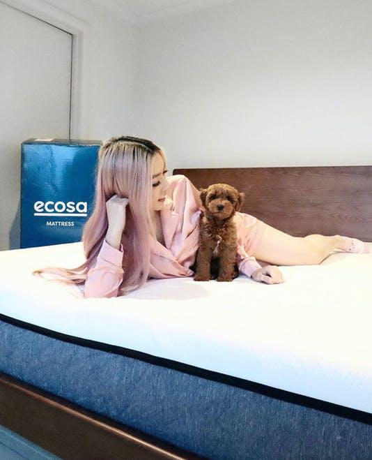 Ecosa Mattress with Dalena 🥔