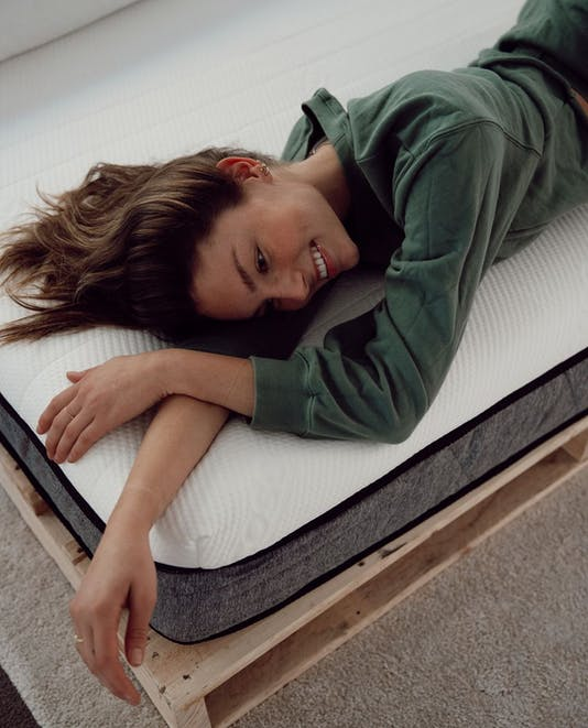 Ecosa Mattress with Tilly Smith