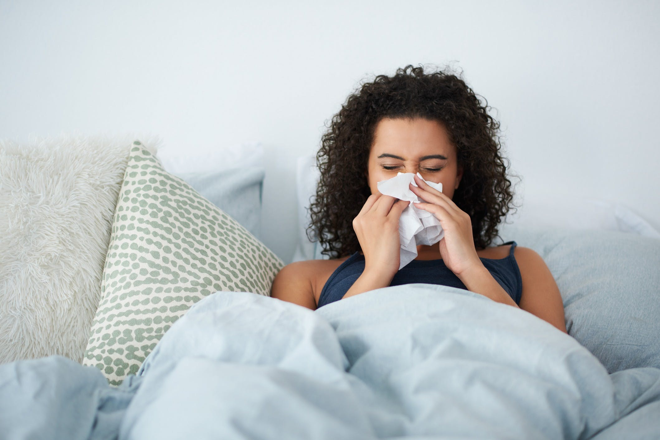 How To Sleep With A Stuffy Nose