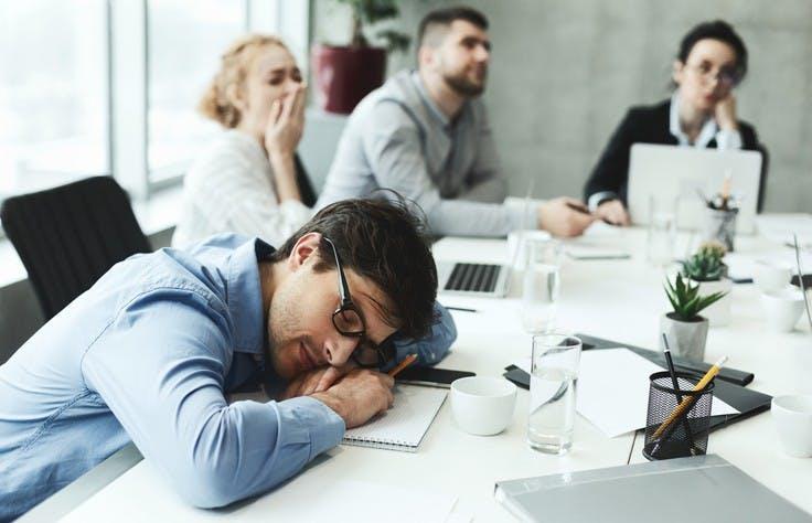 Inemuri - The Japanese Art Of Sleeping At Work
