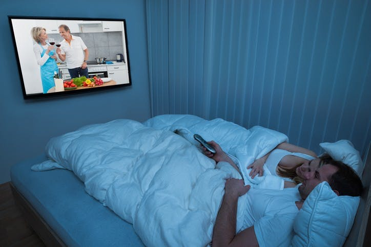 Is It Normal To Sleep With The TV On?